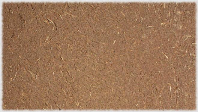 Виды штукатурок на основе глины