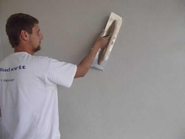 Подготовка стен под шелковую штукатурку